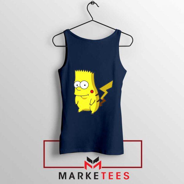 Bart Pikachu Simpson Tank Top
