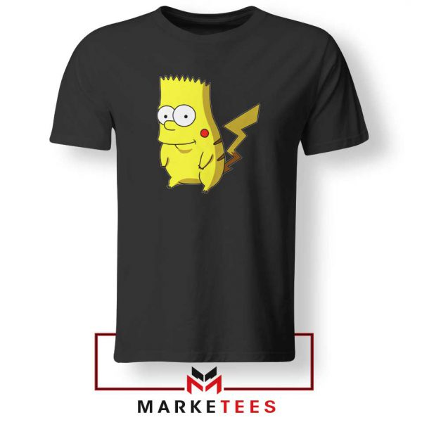 Bart Pikachu Simpson Tee Shirt