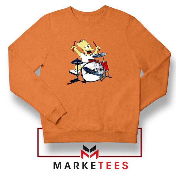 Bart Plays The Drums Sweatshirt
