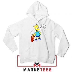 Bart Simpson Cartoon Hoodie