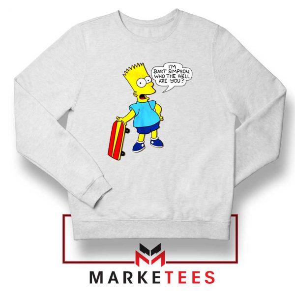 Bart Simpson Cartoon Sweatshirt
