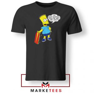 Bart Simpson Cartoon Tee Shirt