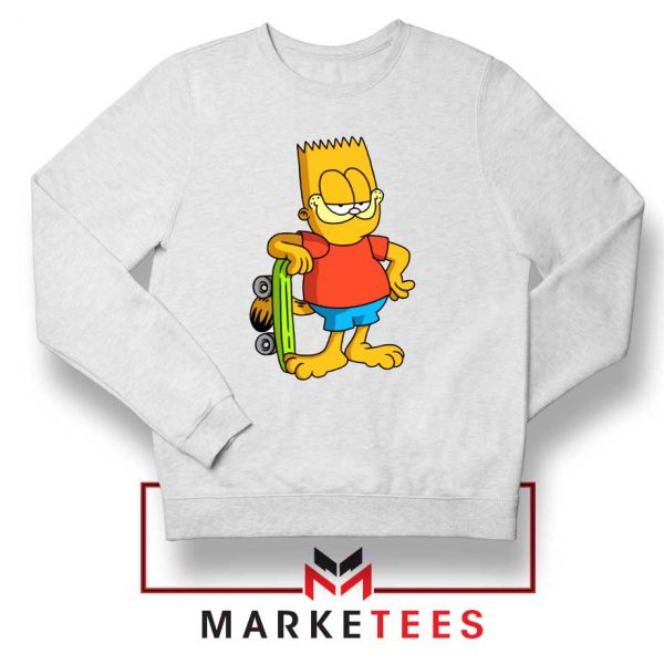 Bart Simpson Garfield Sweatshirt