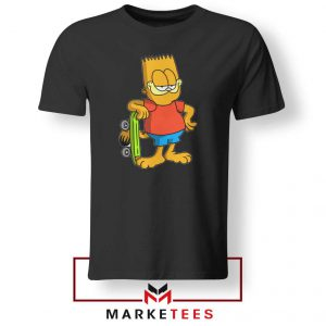 Bart Simpson Garfield Tee Shirt