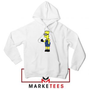 Bart Simpson Minion Hoodie
