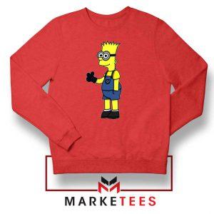 Bart Simpson Minion Sweater