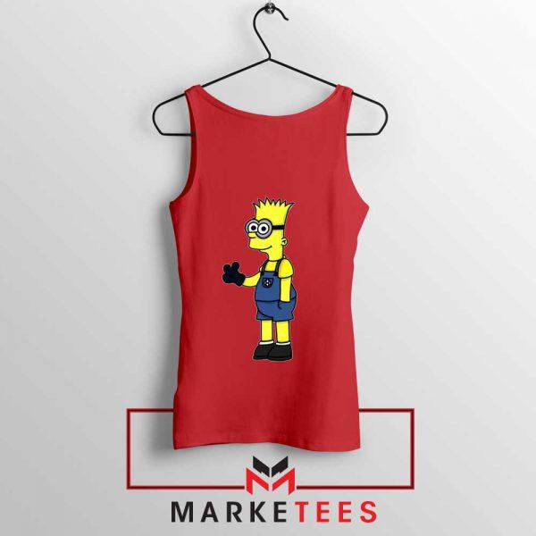 Bart Simpson Minion Tank Top