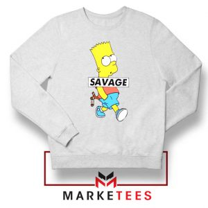 Bart Simpson Savage Sweatshirt