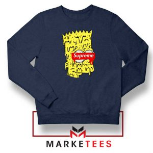 Bart Simpson Supreme Navy Blue Sweater