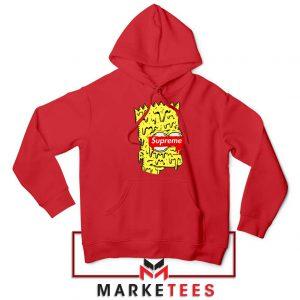 Bart Simpson Supreme Red Hoodie