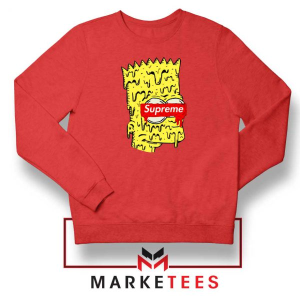 Bart Simpson Supreme Red Sweater