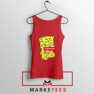 Bart Simpson Supreme Red Tank Top