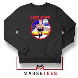 Bart Tyson Black Sweater The Simpsons