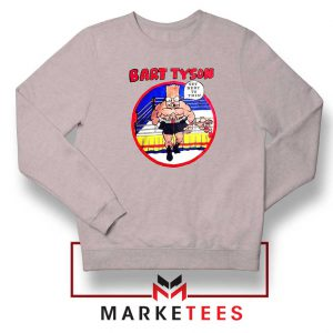 Bart Tyson Grey Sweater The Simpsons