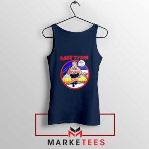 Bart Tyson Navy Tank Top The Simpsons