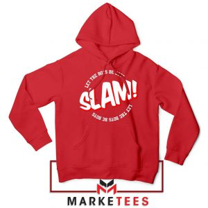 Basketball Quote Red Hoodie