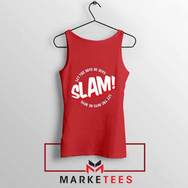 Basketball Quote Red Tank Top