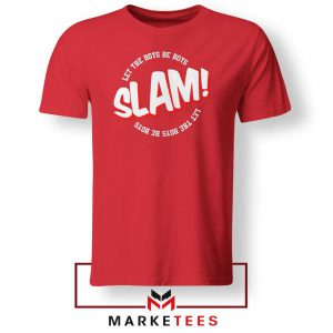 Basketball Quote Red Tee Shirt