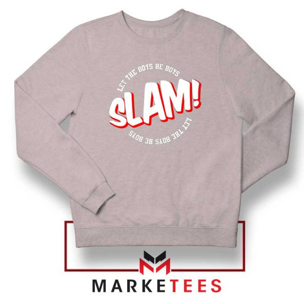 Basketball Quote Sport Grey Sweater