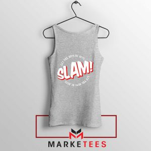 Basketball Quote Sport Grey Tank Top