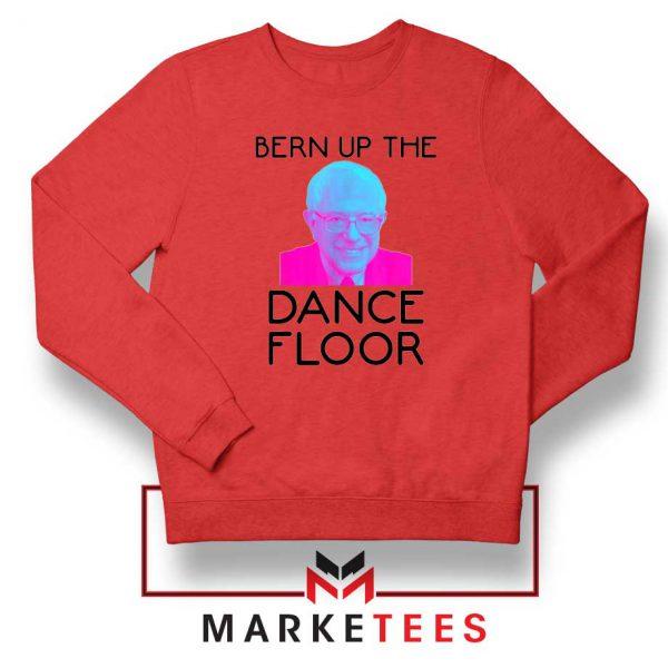Bern Up The Dance Floor Red Sweater