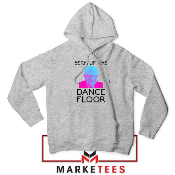 Bern Up The Dance Floor Sport Grey Hoodie