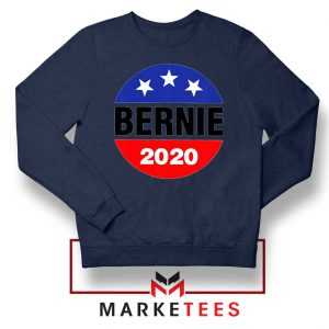 Bernie For President Navy Blue Sweater