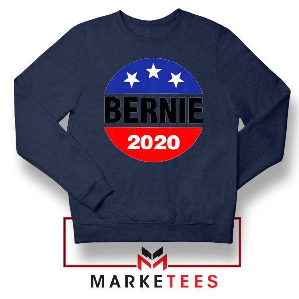 Bernie For President Navy Blue Sweater