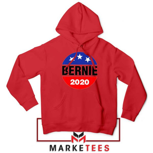 Bernie For President Red Hoodie