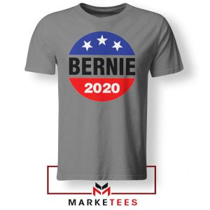 Bernie For President Sport Grey Tee Shirt