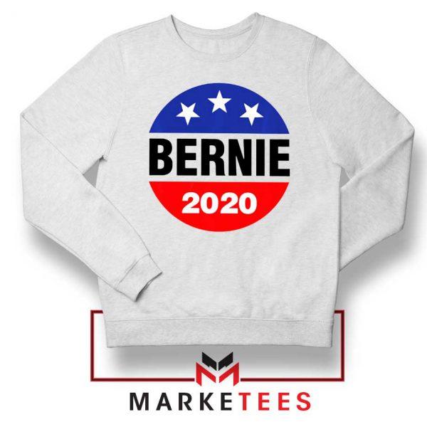 Bernie For President White Sweater