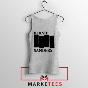 Bernie Sanders Black Flag Sport Grey Tank Top