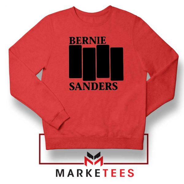 Bernie Sanders Black Flag Sweater
