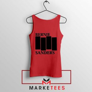 Bernie Sanders Black Flag Tank Top