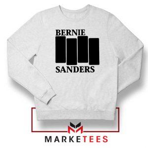 Bernie Sanders Black Flag White Sweater