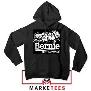 Bernie Sanders Communist Black Hoodie
