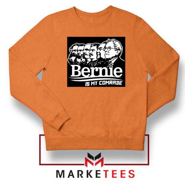 Bernie Sanders Communist Orange Sweatshirt