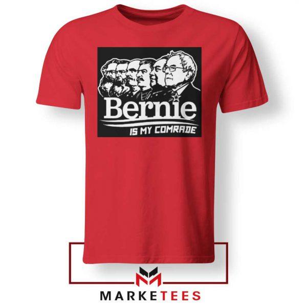 Bernie Sanders Communist Red Tee Shirt