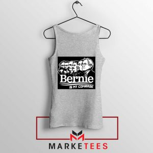 Bernie Sanders Communist Sport Grey Tank Top