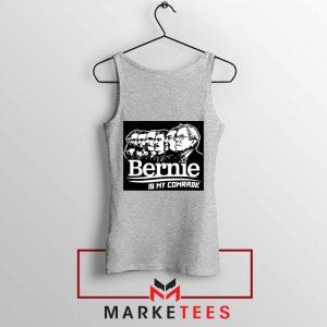 Bernie Sanders Communist Sport Grey Tank Top