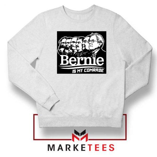 Bernie Sanders Communist White Sweatshirt