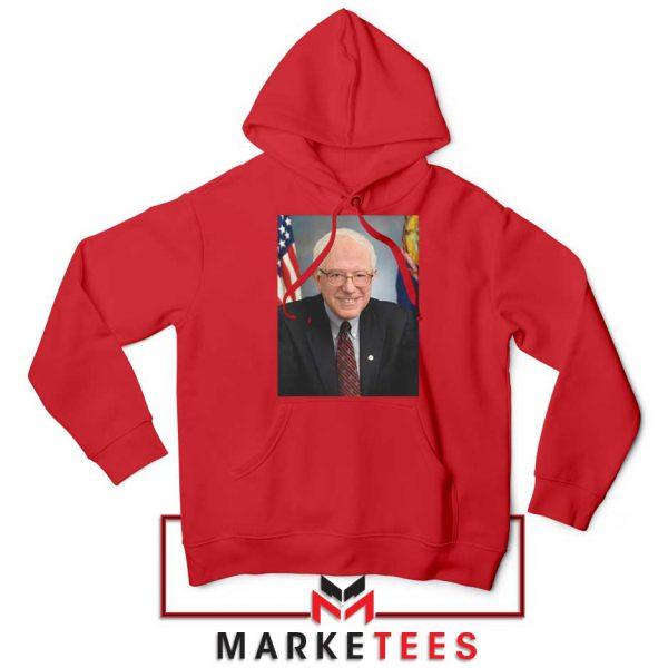 Bernie Sanders Senator Red Hoodie