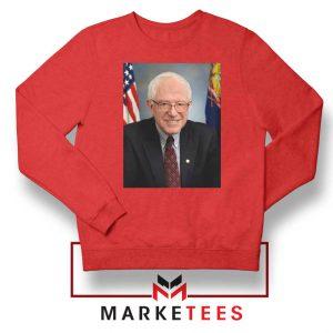Bernie Sanders Senator Red Sweater