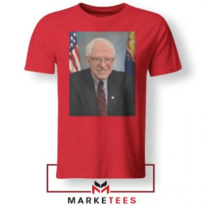 Bernie Sanders Senator Red Tee Shirt