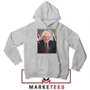 Bernie Sanders Senator Sport Grey Hoodie