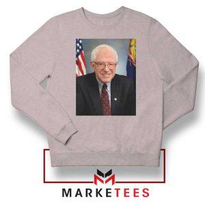 Bernie Sanders Senator Sport Grey Sweater