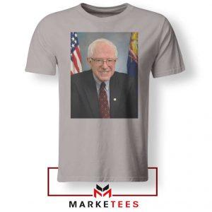 Bernie Sanders Senator Sport Grey Tee Shirt