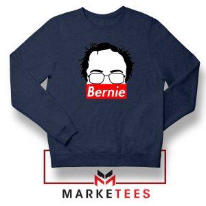 Bernie Silhouette Supreme Navy Sweater
