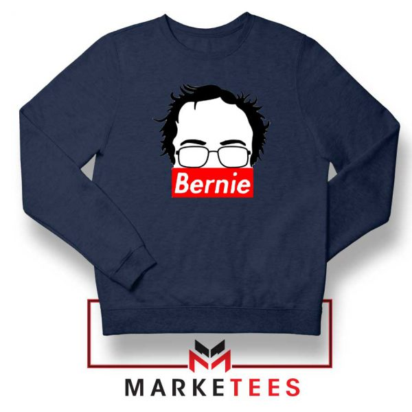Bernie Silhouette Supreme Navy Sweater
