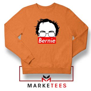 Bernie Silhouette Supreme Orange Sweater